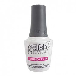 Gelish soak - off gel polish / Foundation
