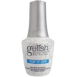 Gelish soak - off gel polish / Top it off sealer