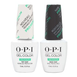 OPI Gel Color - Pro Health Top & Base Coat
