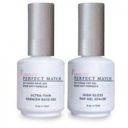 Perfect Match - High Gloss Top Gel & Varnish Base Gel