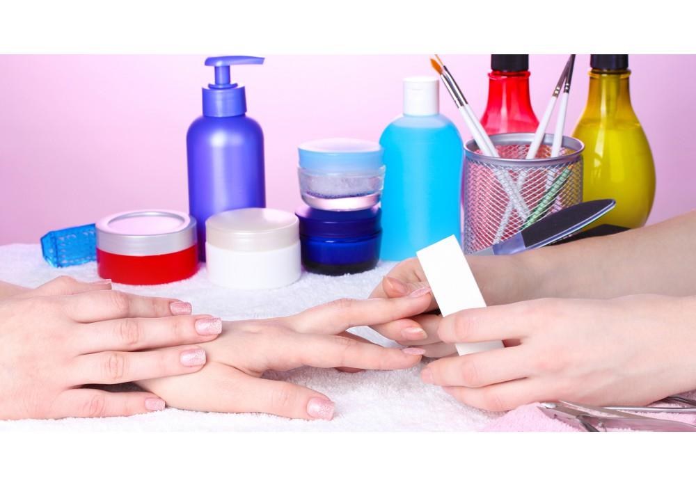 Acrylics Manicure