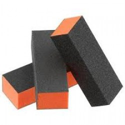 FIORI 3 way Buffer - Black/Orange - Grit 80/100 (500pcs/box)