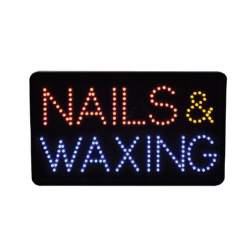 Sign NAILS & WAXING # 686