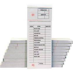 Ticket Book -100pcs/pack