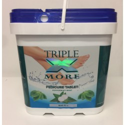 TRIPLE X MORE - Pedicure Tablets (Peppermint/Mint) - 8,000pcs