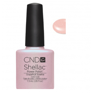 CND Shellac - C857 Grapefruit Sparkle