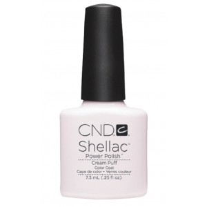 CND Shellac - C501 cream puff