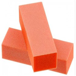DIXON 3 way Buffer - Orange/White - Grit 100/180 (500pcs/box)