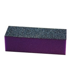 FIORI 3 way Buffer - Black/Purple - Grit 60/100 (500pcs/box)