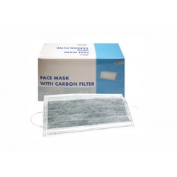 Face Mask with Carbon Filter