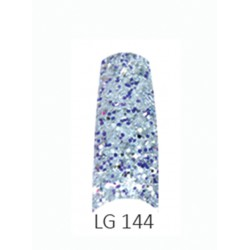 BE QUEEN Large Glitter Nail Tips - LG 144