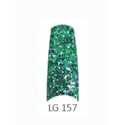 BE QUEEN Large Glitter Nail Tips - LG 157
