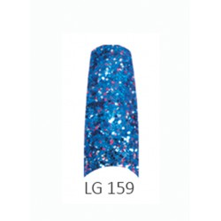 BE QUEEN Large Glitter Nail Tips - LG 159