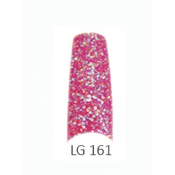 BE QUEEN Large Glitter Nail Tips - LG 161