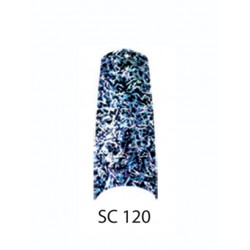 BE QUEEN Sparkle Nail Tips - SC 120